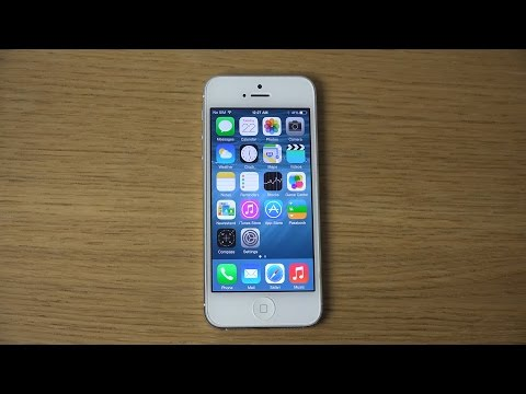 iPhone 5 iOS 8 Beta 4 - Review (4K)