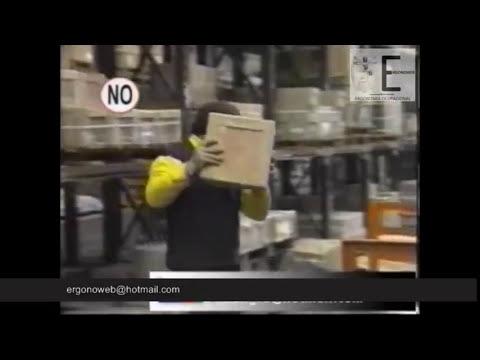 ERGONOMIA EN LA MANIPULACION DE CARGAS