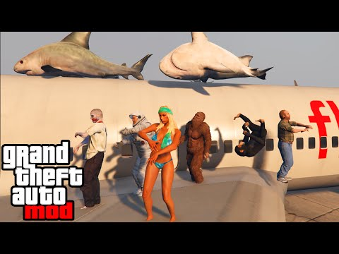 GTA 5 PC Mods - BEST MODS GAMEPLAY! Zombies, Rainbow Car Spawn, & MORE! (GTA V PC Mods)
