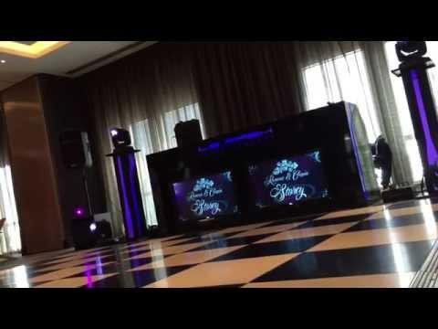 Amazing Mobile DJ Setup at The Radisson Blu Hotel, London