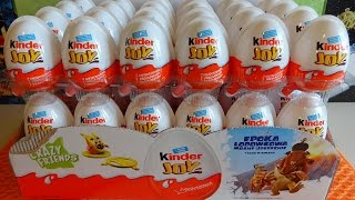 2016 ICE AGE 5: 48 Kinder Surprise Eggs in 16 Minutes Toys Full Collection