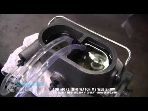 Bench Bleeding the Master Cylinder on your Classic Car