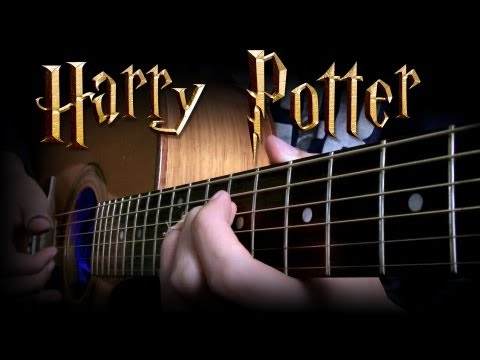 Harry Potter Theme - Eddie Van Der Meer [Solo Fingerstyle Guitar Version] + Tabs