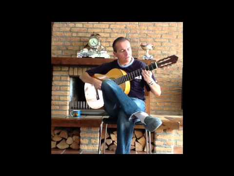 Paco Pena video,Flamenco Guitar Solo: Petenera