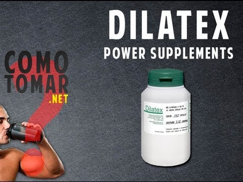 Como Tomar/Como Usar/Sugestão de Uso - Dilatex (Power Supplements)