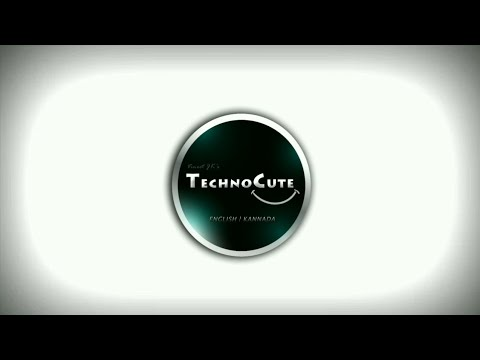 Into To channel TechnoCute | Unboxing | TechTalks | Photography | DIY | Smart Gadgets  |