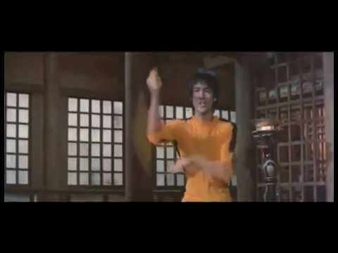 Bruce Lee Vs Michaelangelo Nunchaku Battle