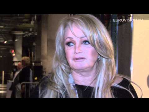 Bonnie Tyler - Believe In Me (United Kingdom) First Rehearsal