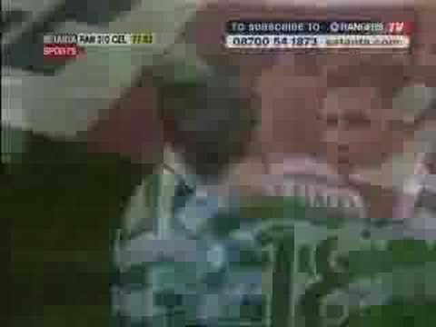 Neil Lennon DOB Rant and Spitting On Rangers Scarf