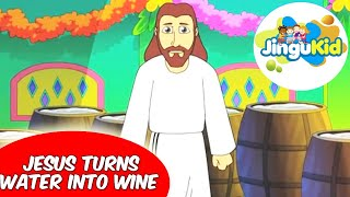 Best Bible stories for kids | Jesus Turns Water Into Wine | Animation | Preschool | Kindergarten