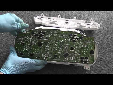 Honda Odyssey - Change Dash Lights in Instrument Cluster