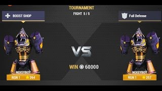 Real Steel Champions | FINAL TOURNAMENT | Noisy Boy VS Noisy Boy NEW ROBOTS GAME (Живая Сталь)