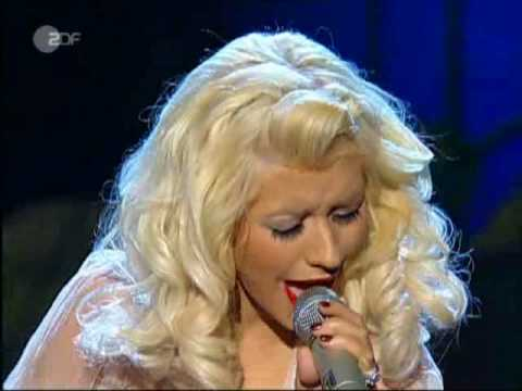 Christina Aguilera - Hurt (live  Wetten Dass...?!?) video