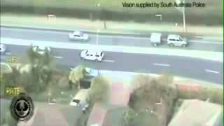 High Speed Police Chase/Pursuit Resulting in Carjacking Spree and Several Crashes