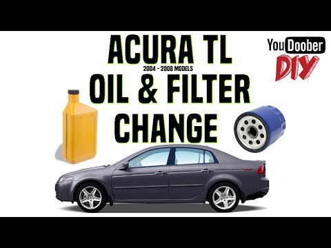 How To Do A 2006 Acura TL Oil Change DIY Style