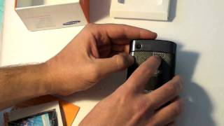 Samsung Captivate Unboxing