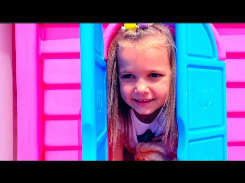 Katy Pretend Play Cry Baby Dolls with toy prams and playground