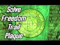 Fallout 4   How To Solve The Freedom Trail Plaque & Unlock The Door   Walkthrough