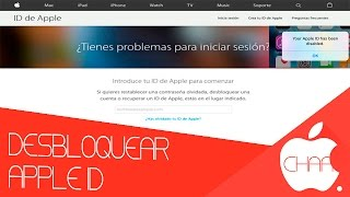 DESBLOQUEAR APPLE ID | BLOQUEO DE SEGURIDAD | LINK DIRECTO APPLE