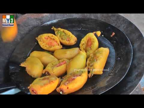 10 TYPES OF MAKING OF MIRCHI BAJJI | FOOD & TRAVEL TV