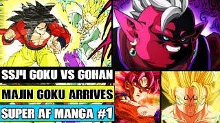 Beyond Super Dragon Ball AF: SSJ4 Goku Vs Gohan! Majin Goku Is Born! Ancient Evil Kaioshin Returns!
