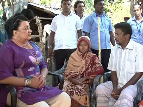 First Lady visit Rizana's House At Moothur-Trincomalee