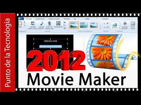 Ultima version de movie maker