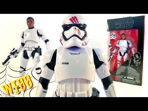 STAR WARS Black Series FN-2187 STORMTROOPER FINN Action Figure Review