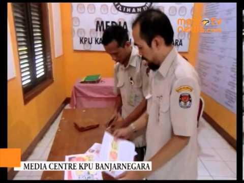 KPU Banjarnegara Dirikan Media Centre