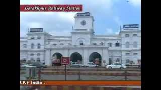 Gorakhpur Railway Station - YouTube.flv