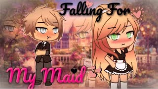 Falling For My Maid | Gacha Life Love Mini Movie | GLMM