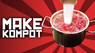 How to make kompot - Slav recipe with Boris