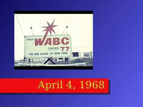 WABC Musicradio 77 – Chuck Leonard – April 4, 1968 – MLK Assassination