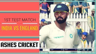 India Vs England 1st Test Match | Ashes Cricket Hindi Gameplay | 60fps 1080p Full HD