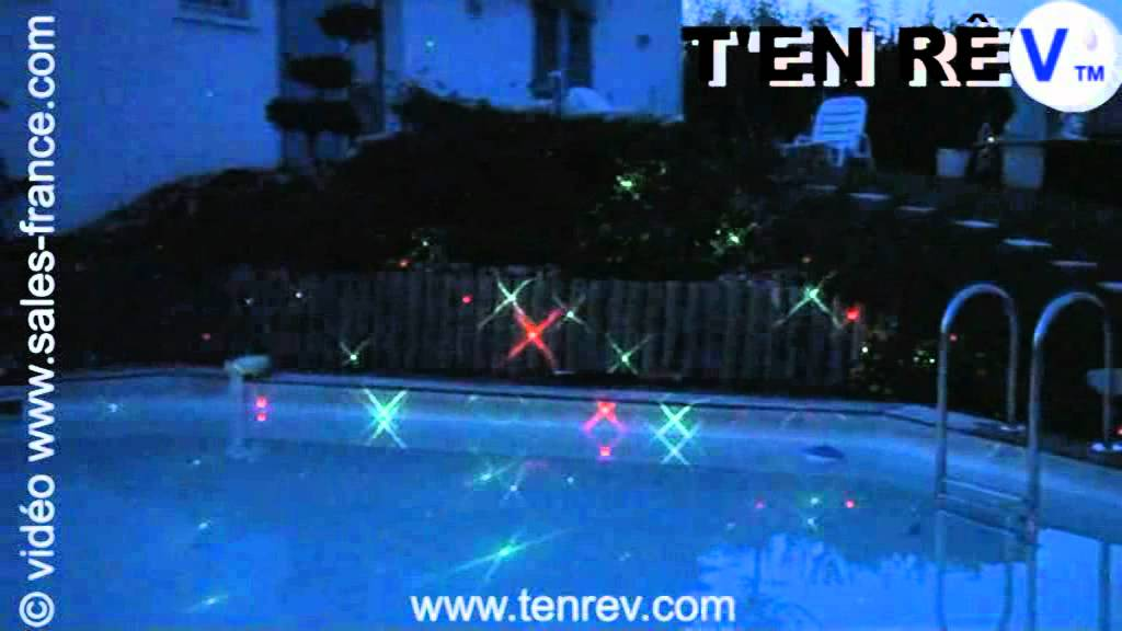 Clairage de piscine au laser d coration lumineuse maison for Club piscine repentigny noel