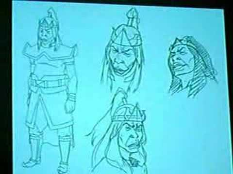 Avatar Art Designs - New York Comic Con Avatar Panel
