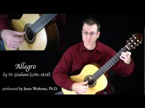 Джулиани Мауро - Allegro Etude In A Minor