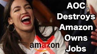AOC Destroys Amazon and Logic