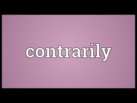 Header of contrarily
