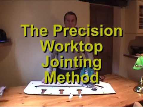 The Precision Worktop Jointing System