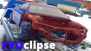 EVOclipse | Mitsubishi Evolution inside  Eclipse 2G (Part 0. restoration and painting of a body)