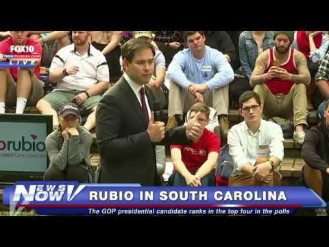 FNN: Sen Marco Rubio at the College of Charleston in South Carolina