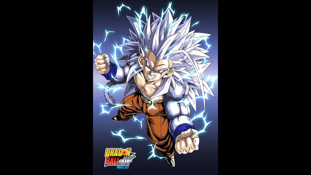 Gohan 39 s super saiyan 5 transformation youtube - Super sayen 5 ...