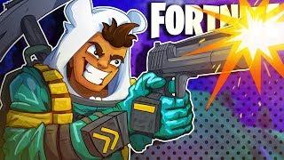 GOD TIER HAND CANNON SHOTS! DAME TU COSITA! - Fortnite: Battle Royale
