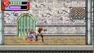 Spider-man 3 GBA parte 6 -Subway Rumble-