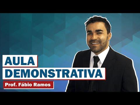 Vídeo 01 -- Questões Comentadas da FCC - Direito Constitucional -- Professor Fábio Ramos