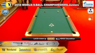 WORLD 9-BALL CHAMPIONSHIPS Juniors TV8