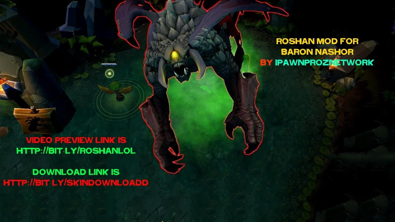 Roshan Dota 2 Mod For League Of Legends YouTube