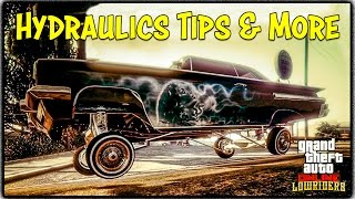 "GTA 5 Online ""HYDRAULICS"" GAMEPLAY TIPS & TRICKS + New Vehicle Controls / Features! [GTA V]"