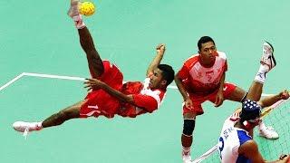 Kung Fu Football | Sepak Takraw - Oddballs